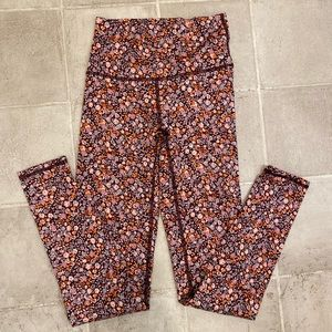 Floral yoga pants by aerie